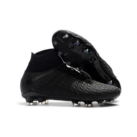 New Nike Hypervenom Phantom 3 DF FG - Black Silver