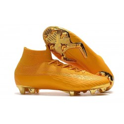Nike Mercurial Superfly VI 360 Elite FG Cleats - Gold