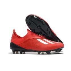 adidas X 18+ FG Mens Football Boots - Red Silver
