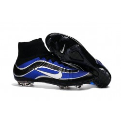 Nike 2016 Mercurial Superfly Heritage FG Cleats Blue White Black