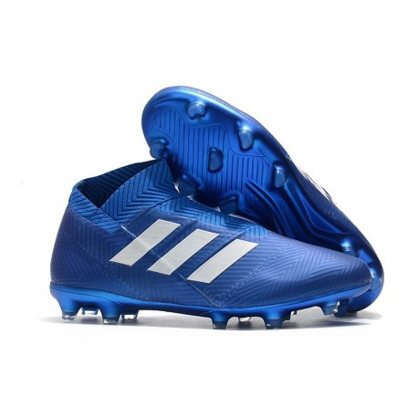 News Adidas Nemeziz 18+ FG Boot - Blue White