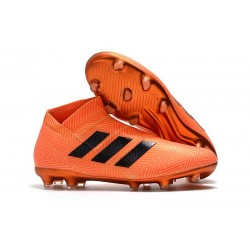 News Adidas Nemeziz 18+ FG Boot - Orange Black