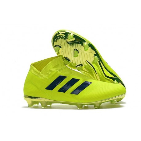 News Adidas Nemeziz 18+ FG Boot - Volt Black