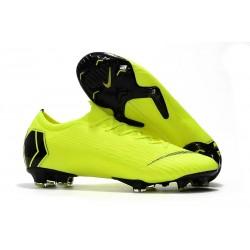 Nike Mercurial Vapor 12 Elite FG News Soccer Boots - Volt Black