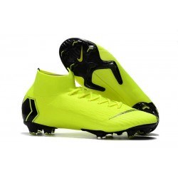 Nike Mercurial Superfly VI 360 Elite FG Cleats - Volt Black