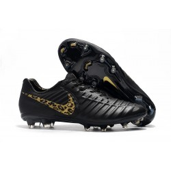 Nike Tiempo Legend 7 Elite FG Firm Ground New Boots - Black Safari