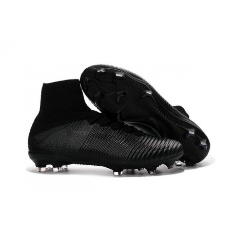 new product 9d27b a53d0 New 2016 Nike Mercurial Superfly V FG Speed Soccer Cleats All Black