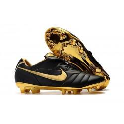 Nike Tiempo Legend 7 Elite FG Firm Ground New Boots - Black Golden