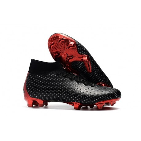 Nike Mercurial Superfly VI 360 Elite FG Cleats - Nike x Jordan Black Red
