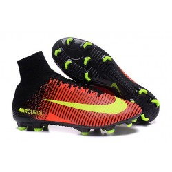 New 2016 Nike Mercurial Superfly V FG Speed Soccer Cleats Crimson Volt Pink