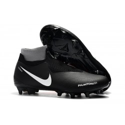 Nike Phantom VSN Elite DF FG Firm Ground Cleat - Black Orange White