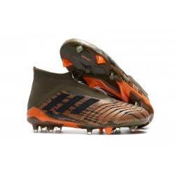 adidas Predator 18+ FG Mens Soccer Boots - Trace Olive Orange