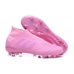 adidas Predator 18+ FG Mens Soccer Boots - All Pink