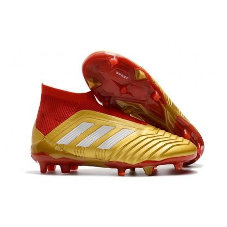 New adidas Predator 18+ FG Soccer Cleats -