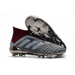 Paul Pogba adidas Predator 18+ FG Soccer Cleats - Metallic Iron