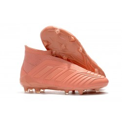 New adidas Predator 18+ FG Soccer Cleats - Orange