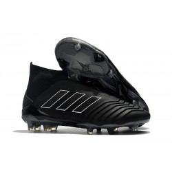 adidas Predator 18+ FG Shadow Mode Boot -All Black