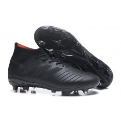 adidas Predator 18.1 Mens FG Soccer Cleats Full Black