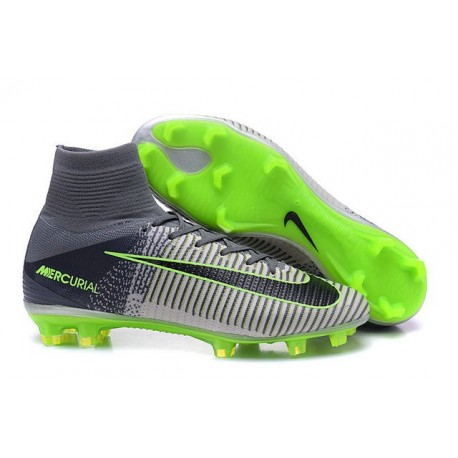 design de qualité 514e1 9db4e nike mercurial superfly grey and green