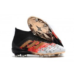 adidas Predator Telstar 18.1 Firm Ground FG Boots - Black Orange Gold
