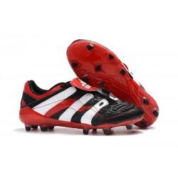 adidas Predator Accelerator FG Soccer Boot - Black Red White