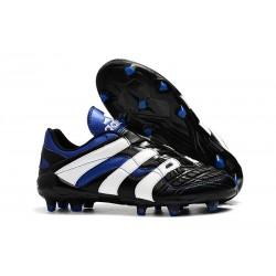 adidas Predator Accelerator FG Soccer Boot - Black White Blue