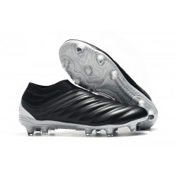 adidas Copa 19+ FG Firm Ground Soccer Boot - Black Red