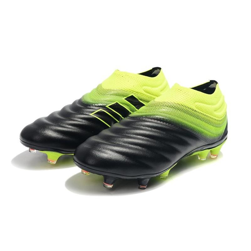 Nuestra compañía Fuerza Viaje  adidas Copa 19+ FG Firm Ground Soccer Boot - Black Green