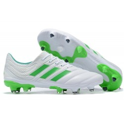 adidas Copa 19.1 FG News Soccer Shoes White Green