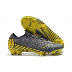 Nike Mercurial Vapor XII Elite FG Firm Ground Cleats - Thunder Grey Black