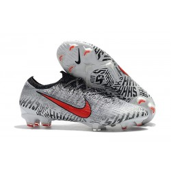 Nike Mercurial Vapor XII Elite FG Neymar Cleats White Red Black