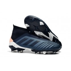 adidas Predator 18+ FG Firm Ground Boot - Dark Blue Black