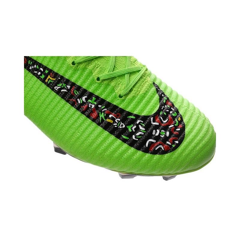 more photos 62520 8b468 Nike Mercurial Superfly 5 FG Cristiano Ronaldo Boots Green Black
