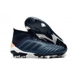 New adidas Predator 18.1 FG Men Soccer Cleat - Cyan Black