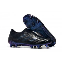 adidas Copa 19.1 FG News Soccer Shoes Black Blue