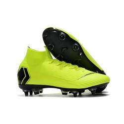 Nike Mercurial Superfly VI Elite SG-Pro AC Boots Volt Black