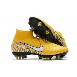 Neymar Nike Mercurial Superfly VI 360 Elite SG-Pro AC Yellow White