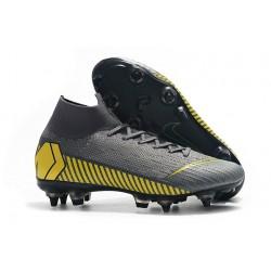 Nike Mercurial Superfly VI 360 Elite SG-Pro AC Grey Yellow