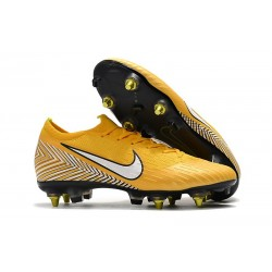 Nike Mercurial Vapor 12 Anti Clog SG-Pro Neymar Yellow White