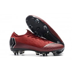 Nike Mercurial Vapor 12 Anti Clog SG-Pro Red Black