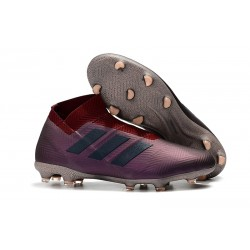 News Adidas Nemeziz 18+ FG Boot - Purple Black