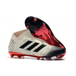 News Adidas Nemeziz 18+ FG Boot - White Red Black