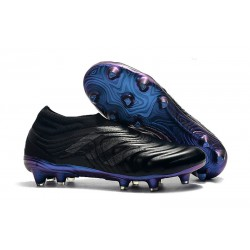 adidas Copa 19+ FG Firm Ground Soccer Boot - Black Blue