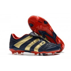 adidas Predator Accelerator FG Mens Cleat - Blue Gold Red