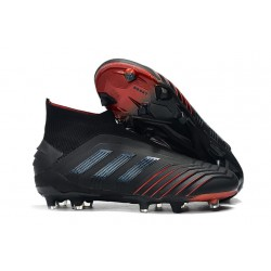 adidas Predator 19+ FG News Soccer Cleat Archetic Black Red