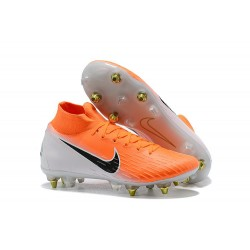 Nike Mercurial Superfly VI 360 Elite SG-Pro AC Orange White