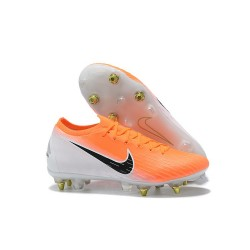 Nike Mercurial Vapor XII Elite FG Firm Ground Cleats - Orange White