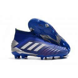 adidas Predator 19+ FG News Soccer Cleat Blue Silver