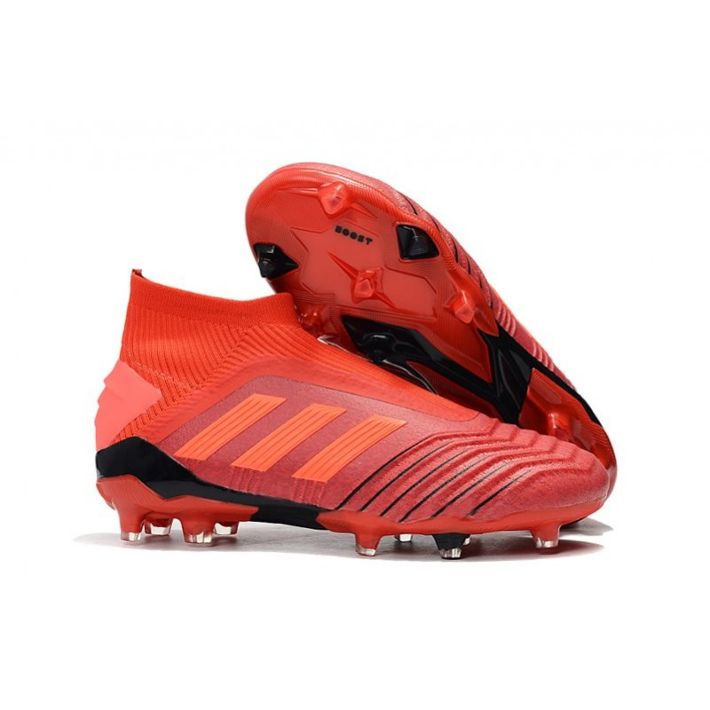 finest selection b461f 3d37d adidas Predator 19+ FG News Soccer Cleat Red
