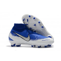Nike Phantom VSN Elite DF FG Firm Ground Cleat - Blue White